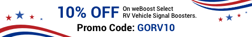 weBoost RV Promotion